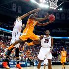 The Volunteers have been one of the strongest-looking teams in the tournament, but before placing a crown on their head, remember how they got to where they are. They beat Iowa in a First Four matchup, then took down Massachusetts and Mercer, which had likely spent itself getting by Duke. The Vols won exactly one game over a top-50 RPI team all year. Now they're going to run through four over the next two weeks? Highly unlikely.