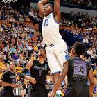 Fellow freshman teammate Aaron Harrison (18.5 points per game) deserves mention, but his contributions have been fairly narrow. Randle has remained a multifaceted beast for the Wildcats in helping them navigate as taxing a road as any Sweet 16 team has faced thus far. The 6-foot-9 freshman has two double-doubles, averaging 16 points and 12.5 rebounds while shooting 11-of-21 from the floor overall. His court sense against Wichita State was keen, too -- he doled out a season-best six assists.