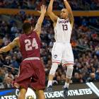 He led the seventh-seeded Huskies in every major statistical category during the season -- scoring, rebounding, assists, steals -- and earned All-America honors. Then the NCAA tournament started and Napier did more. He's averaged 24.5 points, 6.5 rebounds, 4.5 assists and 2.5 steals in two games, and his 21-point second half helped upset No. 2 seed Villanova in the third round.