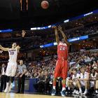 <italics>SI's best photos from Thursday's action in the Sweet 16. </italics> Jordan Siebert scored a team-high 18 points as the underdog Flyers -- an 11 seed in this South Region -- reached the Elite Eight for the first time since 1984.