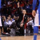Louisville coach Rick Pitino suffered his first loss in a Sweet 16 game in his 12th appearance.