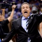 Coach John Calipari's team played its best basketball of the season in the tourney. After beating Kansas State in the round of 64 and Wichita State in the round of 32, Kentucky upset in-state rival Louisville in the Sweet 16, and now Michigan.