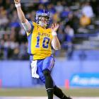 David Fales has been around -- he started his collegiate career at Nevada, but didn't see a good fit with the running quarterback paradigm. After two JUCO seasons at Monterey Peninsula College and a short stop at Wyoming, he finally landed at San Jose State with a bang. Fales completed a nation's best 72.5 percent of his passes in 2012, and posted his second straight 4,000-yard season for the Spartans last season. Fales is a good overall quarterback who has obvious issues with arm strength and throwing mechanics on the run. He's probably going to be a high-quality backup. <italics>Draft projection: Round 5</italics> <bold>GALLERY: Top 10 Running Backs in the NFL Draft</bold> <bold>GALLERY: Top 10 Wide Receivers in the NFL Draft</bold> <bold>GALLERY: Top 10 Tight Ends in the NFL Draft</bold> <bold>GALLERY: Top 10 Tackles in the NFL Draft</bold> <bold>GALLERY: Top 10 Guards in the NFL Draft</bold> <bold>GALLERY: Top 10 Centers in the NFL Draft</bold>
