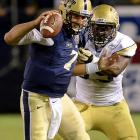 Tom Savage, who transferred from Rutgers to Arizona and finally landed at Pitt to play in 2013, is a classic dropback passer with an outstanding arm, He doesn't throw the same type of pass consistently from game to game, he's erratic on the run and he's prone to unravel under pressure. Anyone looking for a Derek Anderson-style developmental prospect could do a lot worse. Anyone looking for a sleeper second-round talent might be panning for fool's gold. <italics>Draft projection: Round 4</italics>