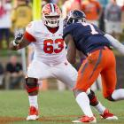 Brandon Thomas unquestionably has the pure athleticism to play NFL guard in any scheme, and at 6-3, 317, that's where he best projects. He played nine games at guard in college, and that's where they wanted to see him at the Senior Bowl. If a team wants a guard who can move from gap to gap, pull with agility and kick-slide in pass pro, Thomas is an interesting prospect. <italics>Draft projection: Round 4</italics>