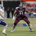 Gabe Jackson is the best of the pure maulers in this class. At 6-foot-3 and 331 pounds, and running a 5.51 40-yard dash at the scouting combine, he's not going to blow anyone away with his pure athleticism. He has a lot of good tape against SEC defenses, was a key cog in an offense that set a number of school records in 2013 and his tenure as a three-year starter implies consistency. <italics>Draft projection: Round 2</italics>