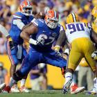 Of all the draftable guards this year, Jon Halapio has the most frustrating divide between potential and output. At 6-4, 323, he has all the physical traits to be a dominant guard at any level, but he has some pretty serious spatial awareness issues, and he gives up inside pressure to elite competition too easily. Florida's offense was a hot mess last season, and Halapio's issues could well be related to coaching. In that case, some NFL team looking to put in the work will have its right guard of the future in Halapio. <italics>Draft projection: Round 6-7</italics> > <bold>GALLERY: Top 10 Quarterbacks in the NFL Draft</bold> <bold>> </bold><bold>GALLERY: Top 10 Running Backs in the NFL Draft</bold> <bold>> </bold><bold>GALLERY: Top 10 Wide Receivers in the NFL Draft</bold> <bold>> </bold><bold>GALLERY: Top 10 Tight Ends in the NFL Draft</bold> <bold>> </bold><bold>GALLERY: Top 10 Tackles in the NFL Draft</bold>