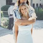 Pat Tillman and his fiance, Marie, in 1998.