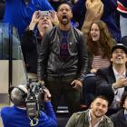 New York Rangers vs. Philadelphia Flyers April 17, 2014 at Madison Square Garden in New York