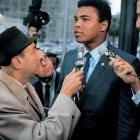 Muhammad Ali was banned from boxing for life (later reduced to 3½ years) after a jury found him guilty of refusing to be inducted into the U.S. Army. The guilty verdict was overturned by the U.S. Supreme Court in 1971.