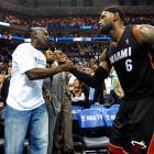 Charlotte Bobcats vs. Miami Heat April 28, 2014 at Time Warner Cable Arena in Charlotte