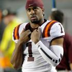 Another Hokies cornerback, another list of injury concerns. Antone Exum blew out his knee playing pick-up basketball in January 2013, then struggled with a bum ankle once he made it back late in the year. As a result, NFL GMs eyeing Exum have to rely on his 2012 tape to tell the story. The 6-0, 213-pounder turned in a 4.59 40 at the combine, offering up evidence in his workout there that he will be ready to roll for training camp. <italics>Draft projection: Round 3</italics>