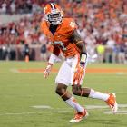 Bashaud Breeland may have benefited from another year at Clemson, but he nonetheless figures to be gone by sometime on Day 2. He projects, at least early in his career, as a very solid No. 2 or No. 3 cornerback, capable of matching up with secondary receivers. That is especially true if he lands somewhere that allows him to play bump-and-run coverage. He was at his best for the Tigers when pressing at the line, then using his athleticism to turn and track. <italics>Draft projection: Round 2-3</italics>