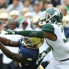 One of the centerpieces on a Michigan State team that came within a few plays of a national title berth, Darqueze Dennard proved time and again to be an absolute force in the Spartans' secondary. The 5-foot-11, 199-pounder intercepted four passes, broke up 10 and compiled a career-high 62 tackles. Most of Dennard's college success came out of aggressive, man-coverage looks. He showed an extreme willingness to get up into the face of opposing receivers, jamming them at the line of scrimmage and driving them out of their routes. His play actually toed the penalty line, something that he will have to watch at the next level. <italics>Draft projection: Top 20</italics>