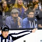 Los Angeles Kings vs. San Jose Sharks April 28, 2014 at Staples Center in Los Angeles