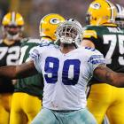 Due to questions about his size, Auburn's Jay Ratliff fell into the seventh round in 2005, where he was selected by Dallas. He quickly became part of the defensive line rotation and made his first of four Pro Bowls as a Cowboy in 2008 with 51 tackles and 7.5 sacks at nose tackle.