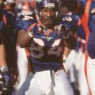 Seven tight ends were selected before Sharpe in 1990, but no player at that position ever achieved as much as Sharpe did in his 14-year career. He retired as the all-time leader in receptions (815), yards (10,060) and TDs (62) for a tight end (all threee since surpassed by Tony Gonzalez) and won three Super Bowl rings with the Broncos and Ravens. Not bad for a player who was barely recruited out of high school, played at small Division I-AA Savannah State and was almost cut by the Broncos early in his career.