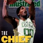 Parish stood tall against some of the all-time greats in his sport. The seven-footer teamed with Larry Bird and Kevin McKale in the iconic frontcourt that led the Celtics to three NBA titles in the 1980s. Parish earned those rings by taking on three of the league's legendary big men in the NBA Finals: Moses Malone in '81, Kareem Abdul-Jabbar in '84 and Hakeem Olajuwon in '86. To purchase Any Given Number, go to SI.com/anygivennumber.