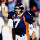 """Elway's trademark was the fourth-quarter comeback and his most famous was """"The Drive"""" in the 1986 AFC title game, when he marched his Broncos 98 yards in Cleveland to force overtime. In the course of his 16-year career, Elway matured from rawly talented escape artist to field general. And while his two Super Bowl wins came with great supporting casts, he provided the signature moment of those wins. To purchase Any Given Number, go to SI.com/anygivennumber."""