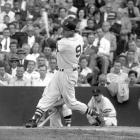 Williams set out to be the greatest hitter that ever lived, and it's hard to argue he wasn't. His career average: .344, tied for the seventh-best alltime. His on-base percentage: .482, the best ever. His slugging percentage: .634, second best. in 1941 he batted .406; no one has hit .400 since. He also smacked 521 home runs, a total depressed by the prime seasons he sacrificed to serve as a Marine pilot in World War II and the Korean War. To purchase Any Given Number, go to SI.com/anygivennumber.
