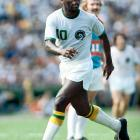 Soccer player of the century? Pelé was so much more. In 1999 he was named Athlete of the Century across all sports by the International Olympic Committee. (Take that, Babe Ruth.) The Black Pearl earned that distinction by dominating South American soccer with a parade of spectacular goals -- he had a record 1,281 in his career -- and by leading Brazil to World Cup victories in 1958, '62 and '70. He was such a star that when he came out of retirement in '75 to play for the New York Cosmos of the upstart North American Soccer League, he instantly raised the profile of a sport that had been largely ignored by U.S. audiences. To purchase Any Given Number, go to SI.com/anygivennumber.