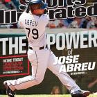 May 12, 2014  |  Jose Abreu, whose power has already made him a force to be reckoned with in the majors, landed SI's regional cover this week.