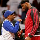 Brooklyn Nets vs. Miami Heat May 12, 2014 at Barclays Center in Brooklyn