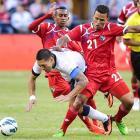 Clint Dempsey gets tripped up by Amilcar Henriquez of Panama in Seattle on June 11, 2013. The U.S. won 2-0 off goals by Jozy Altidore and Eddie Johnson.