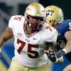 Erving switched from the Seminoles D-line to left tackle just two seasons ago, so he remains a work in progress. And yet, he's locked down that blindside-protector spot well enough to expect him in Round 1 a year from now. On top of moving well at the line, Erving has that nasty streak NFL teams love in their linemen.
