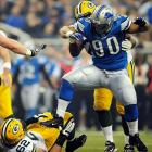 One of the league's physically dominant lineman, Suh's aggressive play and penchant for stomping on opponents has earned him a bad reputation. It's also lost him a lot of money in fines from the NFL.