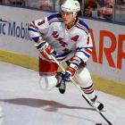 One of the most popular players ever to wear a Rangers uniform, Graves scored 52 goals during their Stanley Cup season of 1993-94, a mark that stood as the club record until Jaromir Jagr broke it in 2005-06. During his 10 seasons with New York, Graves was a respected policeman on the ice and a highly regarded community leader off it, widely recognized for his charitable works and connection to Rangers fans. During Brian Leetch's jersey retirement ceremony in 2008, the defenseman surprised Graves by announcing that the Rangers would retire his No. 9 the following season.