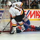 After making his NHL debut during the playoffs in 1989, Richter went on to record what was then a club record 301 wins, spending his entire 14-year career with the Rangers before concussions forced him into early retirement. He backstopped the Rangers to the Stanley Cup in 1994, and his stop on Pavel Bure's penalty shot in Game 4 remains the most famous save in franchise history. Richter also played on two Olympic teams and was MVP of both the 1994 NHL All-Star Game in Madison Square Garden and the 1996 World Cup of Hockey.