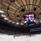 Due the completion of a three-year, $1 billion renovation of Madison Square Garden, the Rangers were forced to open the 2013-14 season with a nine-game road trip that lasted from Oct. 3 to 24 and included a stop in Los Angeles, where the Rangers grabbed their first win by beating their future Stanley Cup Final foes, the Kings. The Blueshirts returned for their opener at the World's Most Famous Arena with a record of 3-6-0 and lost to Montreal, 2-0. Home ice would not be very hospitable early on. During a nine-game homestand in December, they went 3-4-2, leaving them a mediocre 18-18-2.