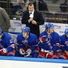 """As the Rangers struggled to adapt to their new coach, who later admitted that he needed time to figure out his players, the team's offense sputtered to 27th in the 30-team NHL. Vigneault fumed after Washington's rookie goalie Philip Grubauer stifled his Rangers, 4-1, at MSG on Dec. 8, handing them their third loss in their last five games. The Blueshirts then held a players-only meeting, one of several they convened in the early going, to seek an answer to their woes. """"It's not going to come from anyone else except from the 22 guys in here,"""" center Derek Stepan said. """"We have to find a way to grab it."""""""