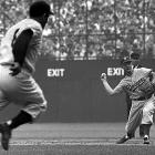 Here are SI's best photos of Don Zimmer, who passed away on June 4 at age 83. Playing for the Brooklyn Dodgers, Don Zimmer throws out Yogi Berra of the New York Yankees during the 1955 World Series. Then a 24-year-old second baseman, Zimmer contributed to Brooklyn's seven-game series victory, the first of his two titles as a Dodger, in a 12-year major league career.