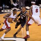 Mario Chalmers didn't score a point in 22 minutes of action, missing all three of his three-point attempts.