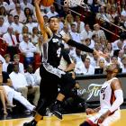 Danny Green scored 15 for the Spurs, who also got 15 out of Tony Parker and 14 from Tim Duncan.