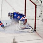Rangers goaltender Henrik Lundqvist turned in a classic performance stopping 40 shots against the Kings.