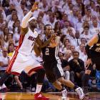 Kawhi Leonard turned in another spirited effort in defending LeBron James.