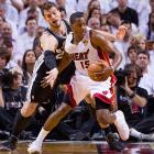 If Mario Chalmers and the Heat force a Game 6, it would be in Miami on Tuesday.