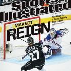 June 23, 2014  |  The goal by defenseman Alec Martinez at 14:43 of double overtime in Game 5 of the Stanley Cup Final capped one of the most remarkable championship runs in NHL history. En route to winning their second Cup since 2012, the gritty, resilient Los Angeles Kings became the league's first team to win three Game 7s on the road during the same postseason, and the first to play as many as 26 games before securing the coveted chalice. They also survived seven playoff games in which they could have been eliminated, and rallied from two-goal deficits four times, including the first two matches of their final series against the New York Rangers. In this week's issue of Sports Illustrated, Brian Cazeneuve explores how General Manager Dean Lombardi has built a model franchise and budding dynasty with a shrewd philosophy.
