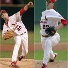 Carpenter, the reigning NL Cy Young winner, pairs up with Mulder to make the Cardinals the heavy favorites to win the NL Central for a third consecutive year.