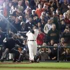 Barry Bonds' pursuit of Hank Aaron's career home run record was marred by controversy, as Bonds was ensnared in a steroid scandal stemming from his involvement with BALCO. On August 8, Bonds hit a 3-2 pitch from Nationals pitcher Mike Bascik into the seats at AT&T Park for his 756th career homer, one ahead of Aaron's mark that had stood for 33 years. Bonds hit six more home runs that season, the last of his career, leaving the record at 762.
