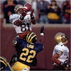 On the game's final play, Colorado found itself down five with the ball on its own 36-yard line. Kordell Stewart uncorked a 73-yard bomb, which is deflected by a Michigan defender into the hands of diving receiver Michael Westbrook, who clung to the ball to gave the Buffaloes an improbable 27-26 victory.