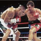 Since losing to Trinidad, De La Hoya had fought only four times, winning a couple more belts but also dropping another close decision, to Sugar Shane Mosley in 2000. Yet facing Vargas -- another product of Southern California's Mexican-American culture, who had called out the Golden Boy, questioning his machismo and street cred -- seemed to energize De La Hoya. Far from playing it safe this time, he beat the rugged Vargas at his own game, rocking him and bloodying him throughout and finally stopping him in the 11th.
