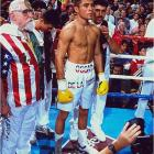 """""""I feel like I waited for this moment all my life,"""" said De La Hoya shortly after making his pro debut in front of a wildly supportive crowd of 6,185 at the Great Western Forum in Los Angeles. """"I tried to make it last."""" If so, he failed, dispatching the hapless Williams with a very professional left hook to the liver, just 1:42 into the first round."""