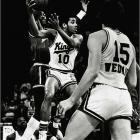 Otis Birdsong and the fourth-seeded Kings were not expected to be much of a match for Truck Robinson, Dennis Johnson and the rest of the top-seeded Suns, but after four games, the Kings had a 3-1 lead. The Suns fought back to tie it at six, but the Kings battled hard in Game 7, pulling out a 95-88 win to advance to the conference finals, where they were ousted in five games by Houston.