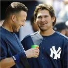 With the sluggers the Yankees have, these two can walk home half the time. But they can run, too -- they have 19 steals combined this season.