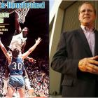 """I was trying to take a charge on Magic Johnson,"" says former Indiana State swingman Bob Heaton of SI's cover from the 1979 NCAA title game. ""I got to the basket too late."" As a child Heaton had wanted to be one of SI's FACES IN THE CROWD. ""I never expected my face to be on the cover,"" says the Terre Haute financial planner, 49. ""In fact, it wasn't. But friends say the picture shows my best side: my backside."""