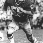 """Though he is best known for his role on """"Saved by the Bell: the College Years,"""" Golic was a two-sport phenom at Notre Dame. He was a unanimous All-America linebacker for the 1977 national championship team and an All-America heavyweight wrestler. Golic placed third and fourth in the country in '76 and '77."""